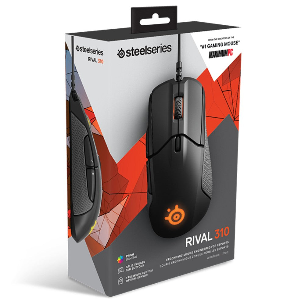 SteelSeries Rival 310 RGB Gaming Mouse