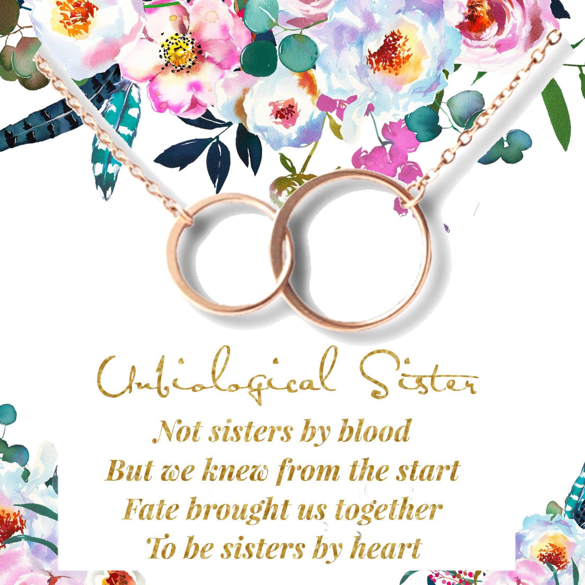 Best Friend Jewelry for Unbiological Soul Sister BFF Not Sister by Blood But Sister by Heart Gift Friendship Bracelets for Women Girls