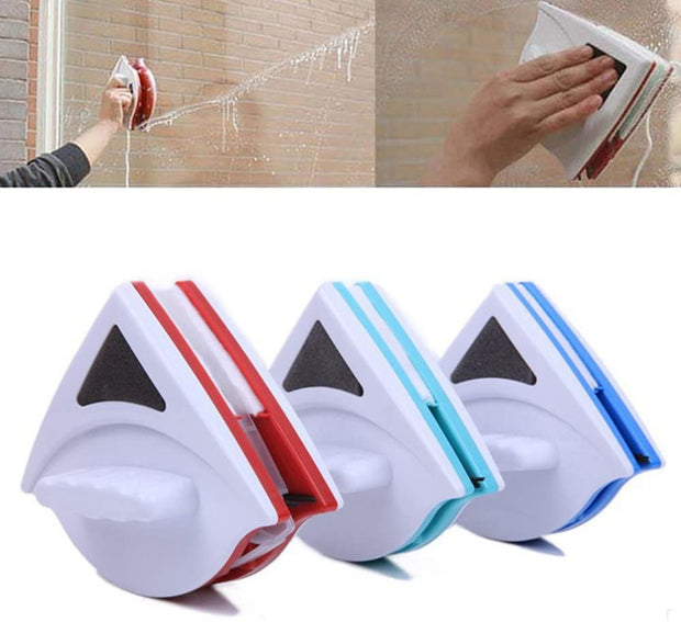 Double-Side Magnetic Window Glass Cleaner