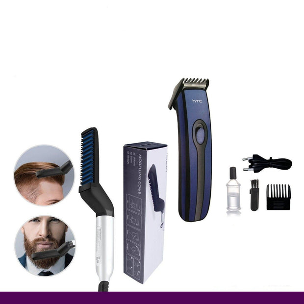 Hair STraightner + HTC Trimmer - AIDAeMART