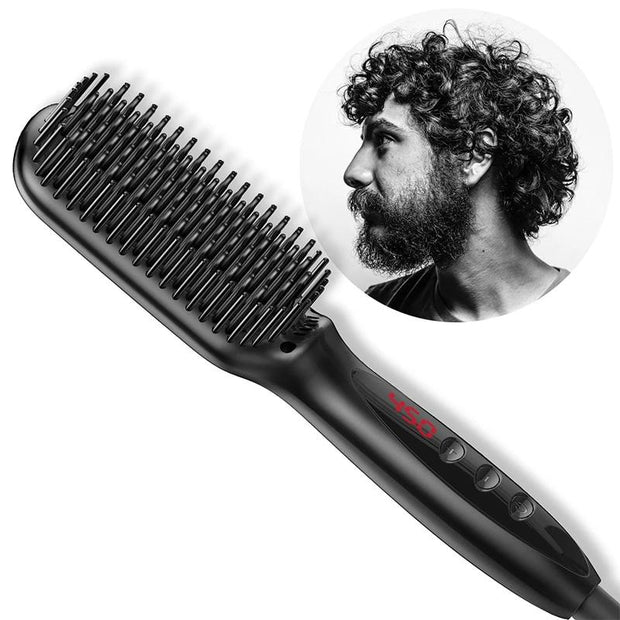 HAIR AND BEARD STRAIGHTNER FOR MEN - AIDAeMART