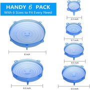 Silicone Cover Stretch Lids