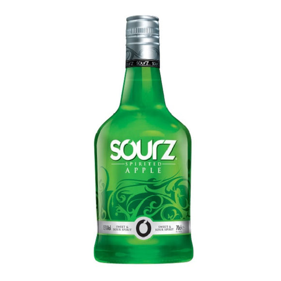 SOURZ APPLE SCHNAPPS 700ML - THIRSTY LIQUOR HILLCREST