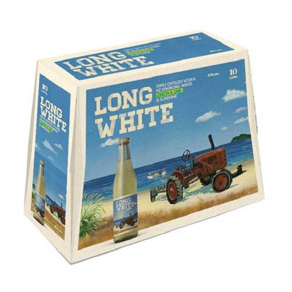 LONG WHITE LEMONLIME 10PK BTLS 320ML - Thirsty Liquor Hillcrest