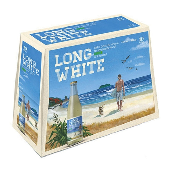 LONG WHITE FEIJOA 10PK BTLS 320ML - Thirsty Liquor Hillcrest