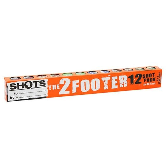 SHOTS 2 FOOTER 12PK 30ML - Thirsty Liquor Hillcrest