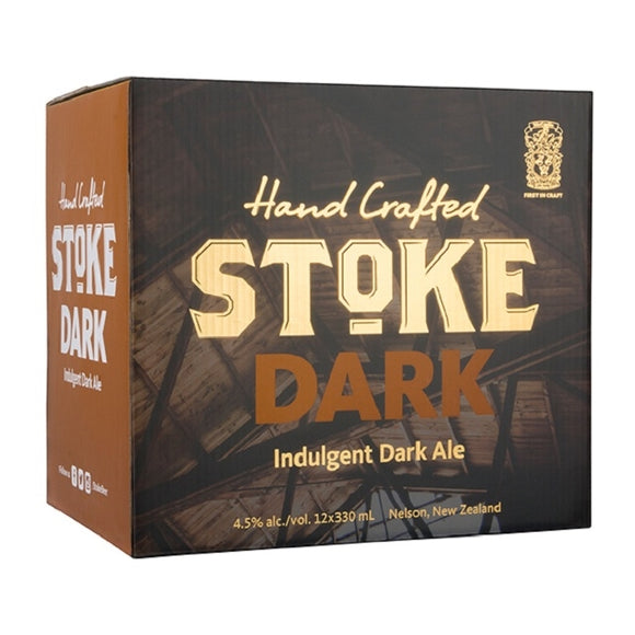 STOKE DARK 4.5% 12PK BTLS 330ML - Thirsty Liquor Hillcrest