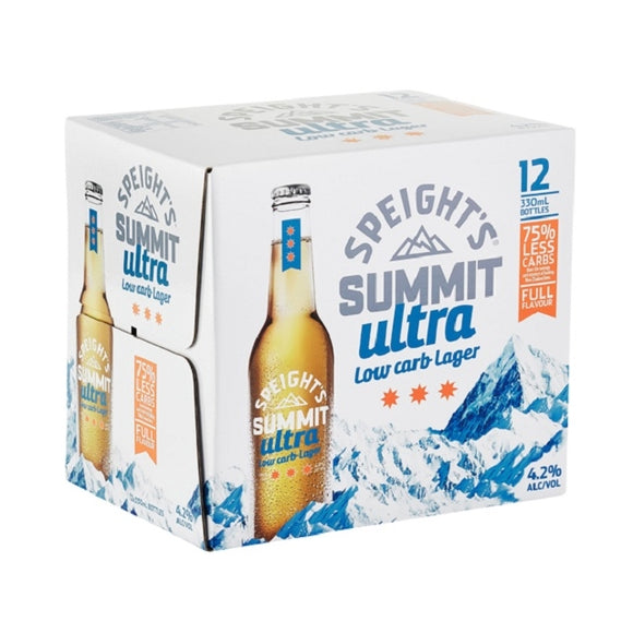 SPEIGHTS SUMMIT ULTRA LOW CARB 12PK BTLS 330ML - Thirsty Liquor Hillcrest