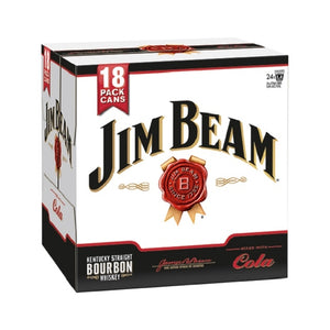 JIM BEAM 18PK CANS 330ML - THIRSTY LIQUOR HILLCREST