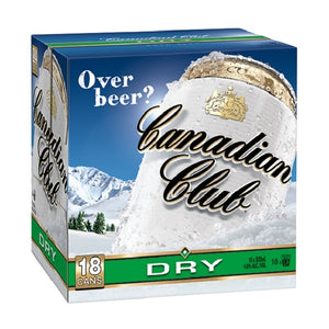 CANADIAN CLUB 18PK CANS 330ML - Thirsty Liquor Hillcrest