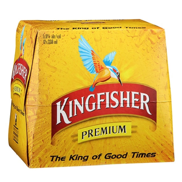 KINGFISHER 12PK BTLS 330ML - Thirsty Liquor Hillcrest