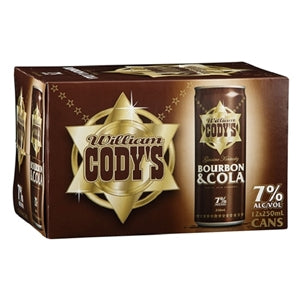 CODYS 7% 12PK CANS 250ML - THIRSTY LIQUOR HILLCREST
