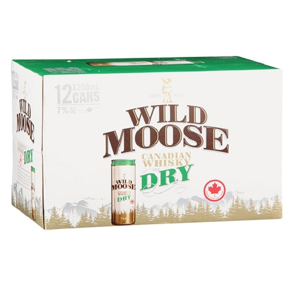 WILD MOOSE 7% 12PK CANS 250ML - Thirsty Liquor Hillcrest