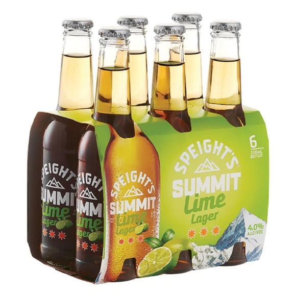 SPEIGHTS SUMMIT 4% LIME LAGER 6PK BTLS 330ML - Thirsty Liquor Hillcrest