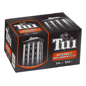 TUI BOURBON 7% 12PK CANS 250ML - Thirsty Liquor Hillcrest
