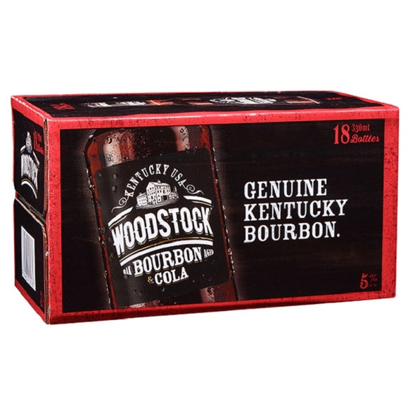 WOODSTOCK 5% 18PK BTLS 250ML - Thirsty Liquor Hillcrest