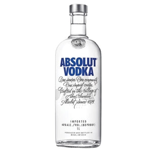 ABSOLUT 1 LITRE - THIRSTY LIQUOR HILLCREST