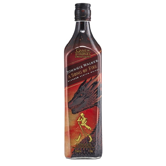 JW SONG OF FIRE 700ML - Thirsty Liquor Hillcrest