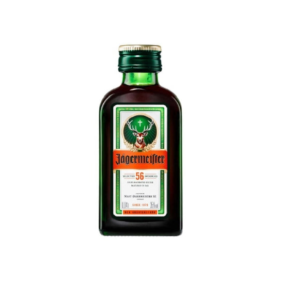 JAGERMEISTER 40ML MINIATURE - Thirsty Liquor Hillcrest