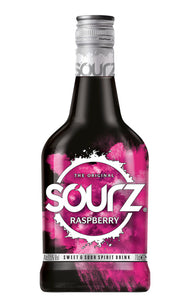 SOURZ RASPBERRY SCHNAPPS 700ML - Thirsty Liquor Hillcrest