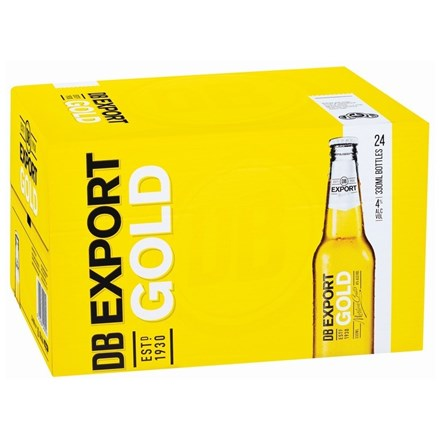 EXPORT GOLD 24 PK BTLS 330ML - Thirsty Liquor Hillcrest