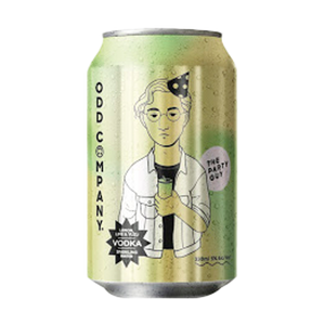 ODD COMPANY VODKA LEMON LIME YUZU 10PK CANS 330ML - Thirsty Liquor Hillcrest