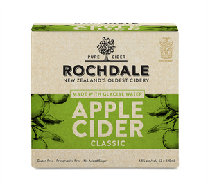 ROCHDALE APPLE CIDER 4% 12PK BTLS 330ML - Thirsty Liquor Hillcrest