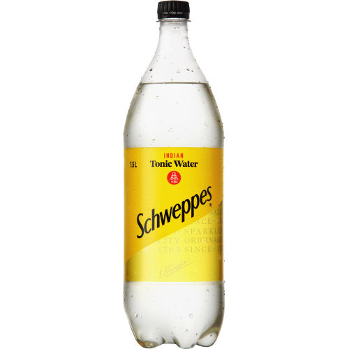 SCHWEPPES TONIC WATER 1.5 LITRE - Thirsty Liquor Hillcrest