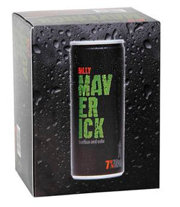 BILLY MAVERICK 7% 12PK CAN 250ML - Thirsty Liquor Hillcrest