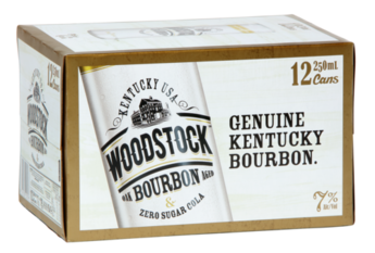 WOODSTOCK ZERO 7% 12PK CANS 250ML - THIRSTY LIQUOR HILLCREST