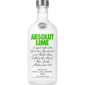 ABSOLUT LIME 700ML - THIRSTY LIQUOR HILLCREST