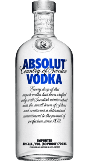 ABSOLUT 700ML - Thirsty Liquor Hillcrest
