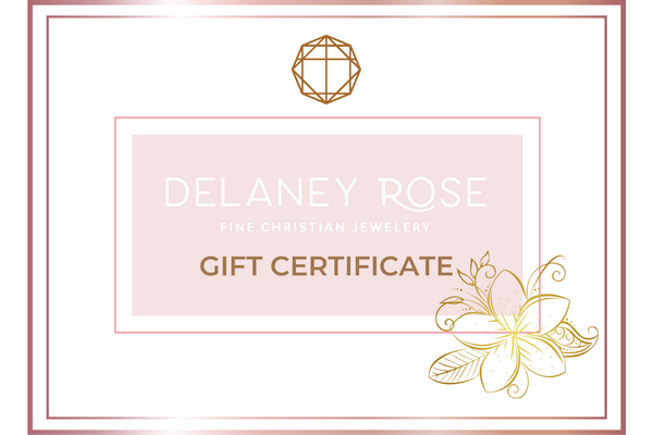Delaney Rose Jewelry Gift Card