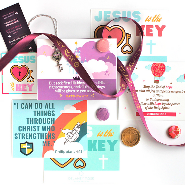 Jesus is the Key Scripture Card Set
