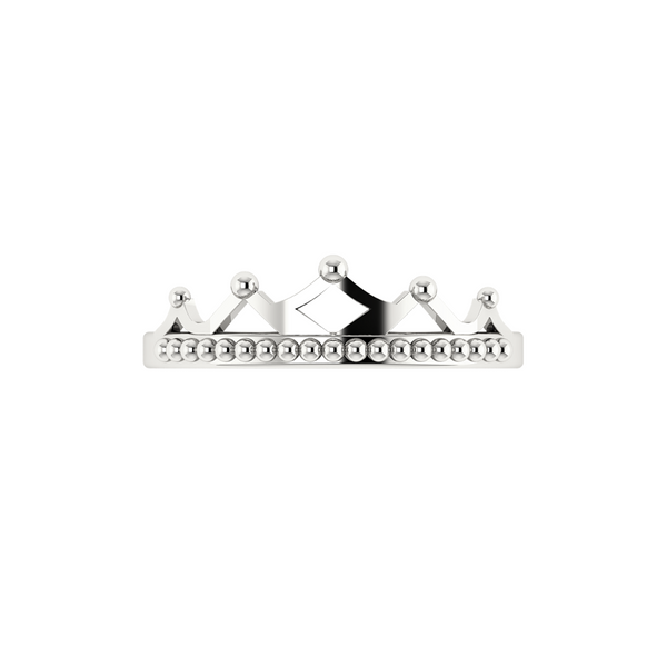 Crown Ring - Sterling Silver