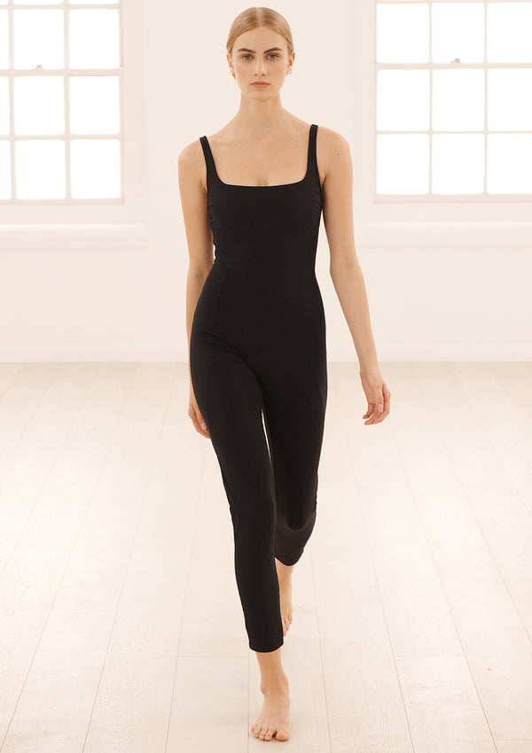ASTRA BODYSUIT IN ECONYL® - NERO