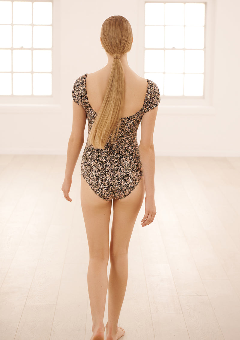 CAPRI LEOTARD IN ECONYL® - COSMOS