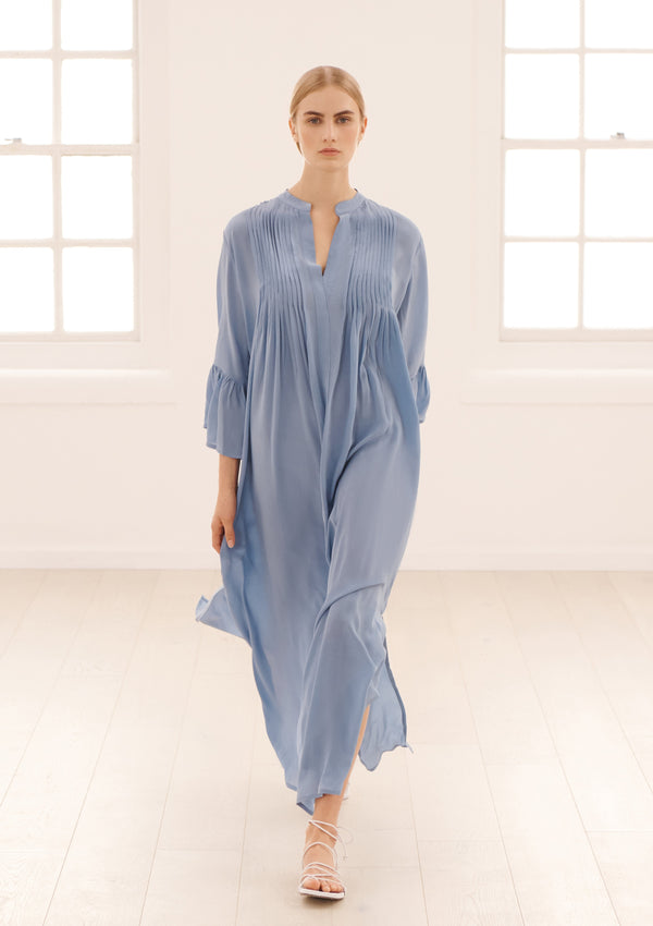 KATIA DRESS IN CORNFLOWER BLUE TENCEL™
