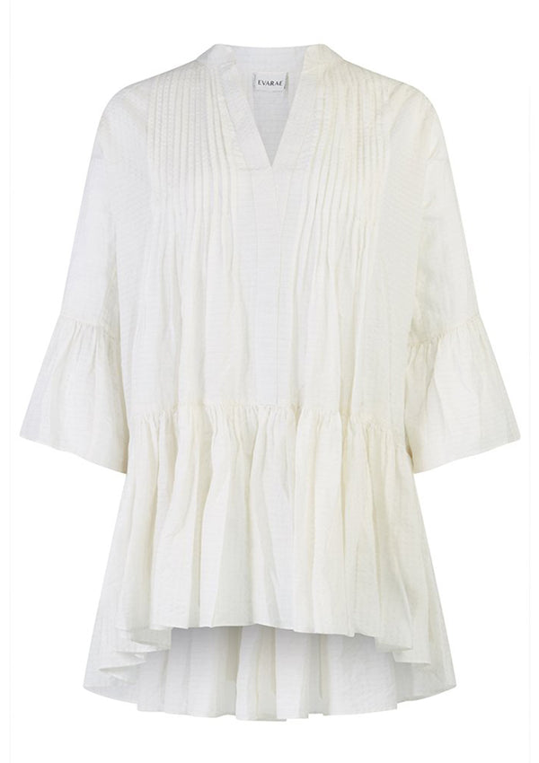 LOLI DRESS IN SOFT WHITE TENCEL™