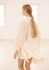 MARAIS DRESS IN CREME TENCEL™