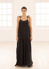 MARLI DRESS IN NERO TENCEL™