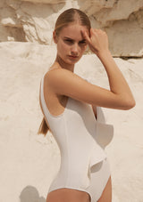 OTTO SWIMSUIT IN ECONYL® - CREME