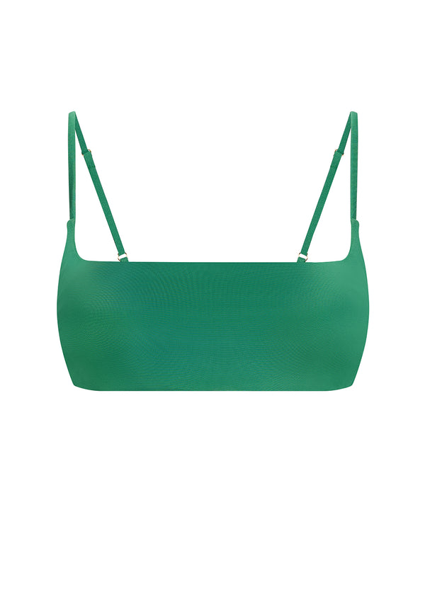 REGAN BIKINI TOP IN ECONYL® - EMERALD