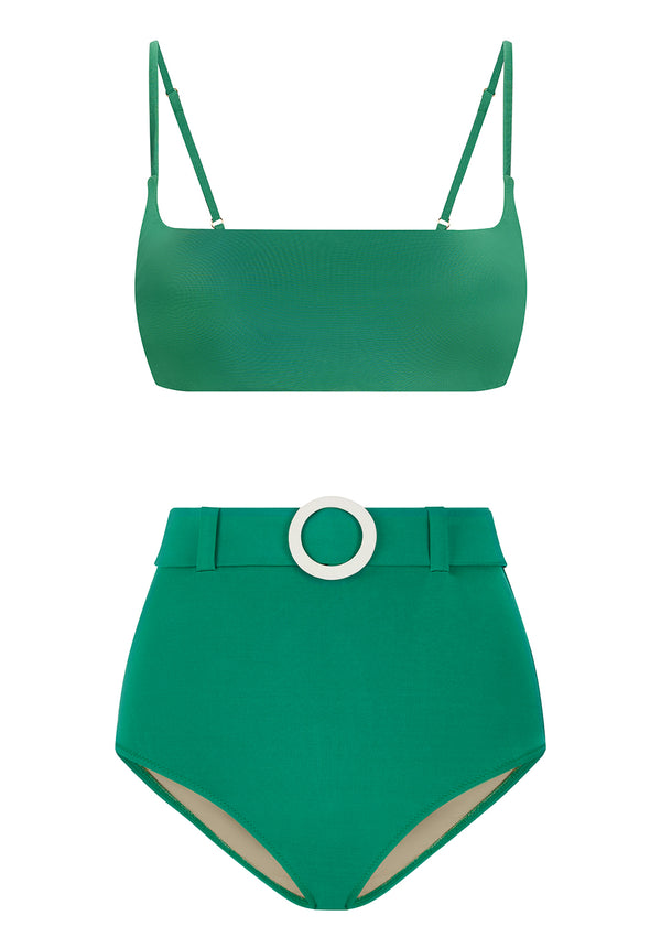 ELENA BIKINI BOTTOMS IN ECONYL® - EMERALD