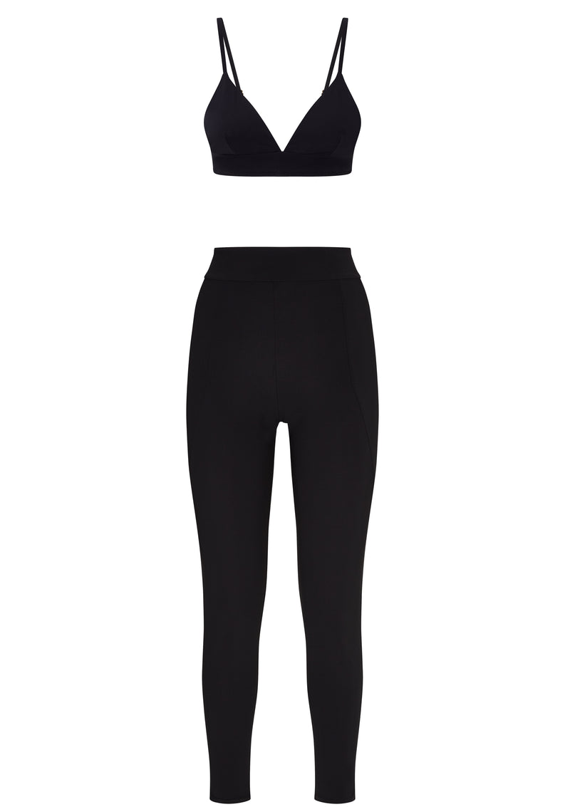 LUNA LEGGINGS IN ECONYL® - NERO