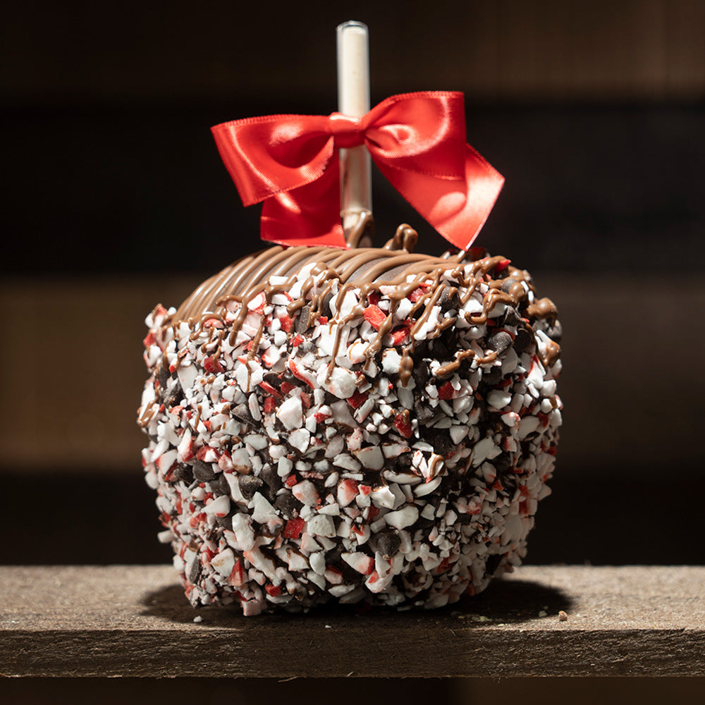 Dark Chocolate Peppermint Apple