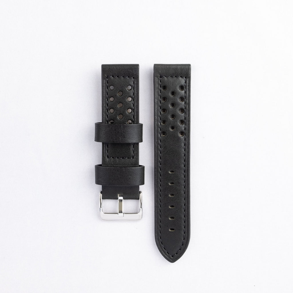 Thick Stitched Leather Strap