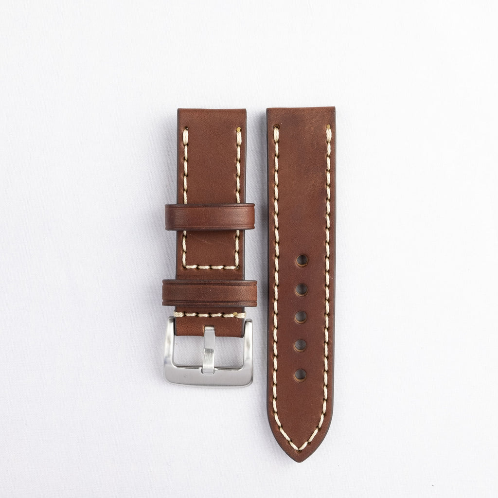 Flat Thick Oil Leather Strap