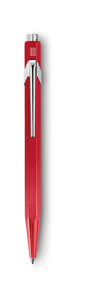 Caran d'Ache 849 Metallic Red Ballpoint Pen