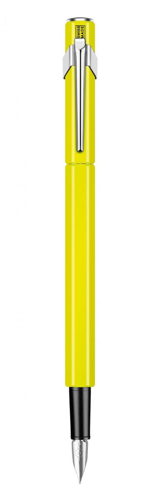 Caran d'Ache 849 Fluo Yellow Fountain Pen